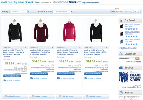 Sears Clothes